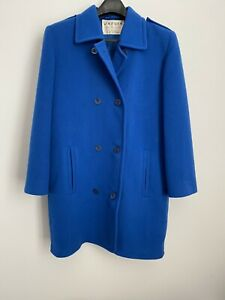 jaeger-wool-coat-Size-10-Cobalt-Blue
