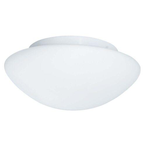 Weisse Opalglas Bündige Leuchte 28Cm Weiß gemalt Glas Badezimmer Ip44 2Flammig