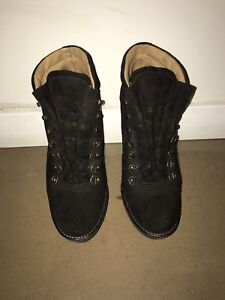 b14dd3ad9d5a3 Image is loading Polo-Ralph-Lauren-Womens-Heeled-Hiking-Boot