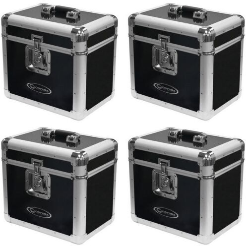 4 Pack Odyssey LP Vinyl Records Utility Transport Case for 70 12 Inch Records