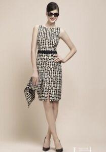 PAULE KA 🖤 Kleid Abendkleid Midi Gr. L 42 Luxus Muster ...