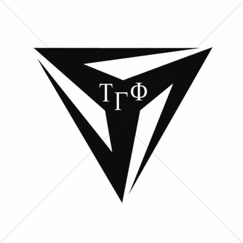Tau Gamma Phi TYM TRISKELION YOUTH MOVEMENT Decals