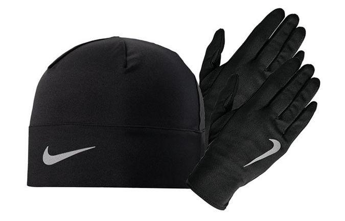 Guantes de correr NIKE run sombrero guantes  del sombrero de conjunto jogging deportes Fitness hombre seco  la calidad primero los consumidores primero