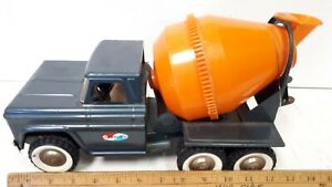 1960-039-s-STRUCTO-Cement-Truck-with-Motor-Sound-Really-Nice-Original-Condition