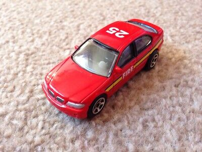 BMW 3 SERIES FIRE CAR IN RED GREAT DETAIL MINT 1//59 MINT REALTOY
