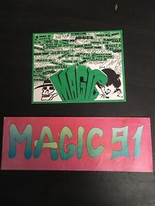 Stickers autocollants ultras Saint Étienne ASSE Magic Fans