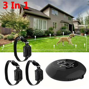 Wireless-Electric-Dog-Collar-System-Transmitter-Fence-Containment-Waterproof