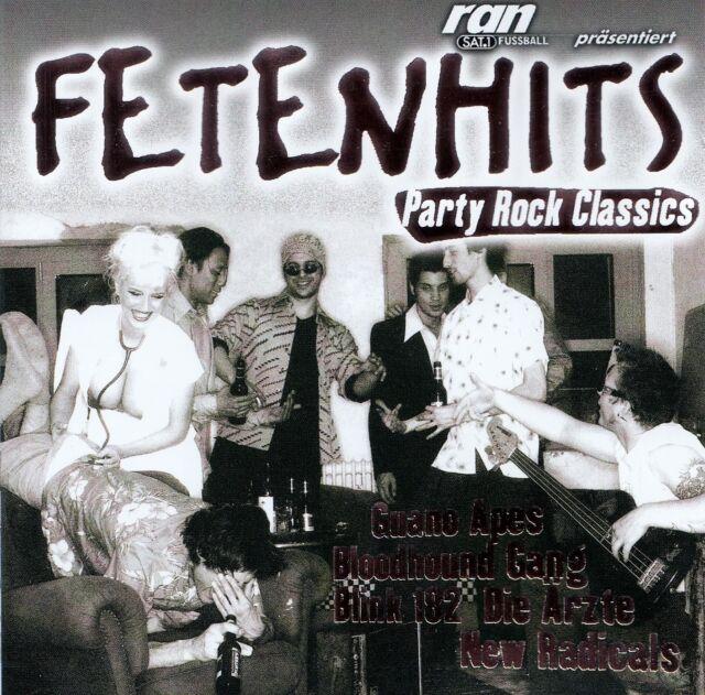 FETENHITS - PARTY ROCK CLASSICS / 2 CD-SET - TOP-ZUSTAND