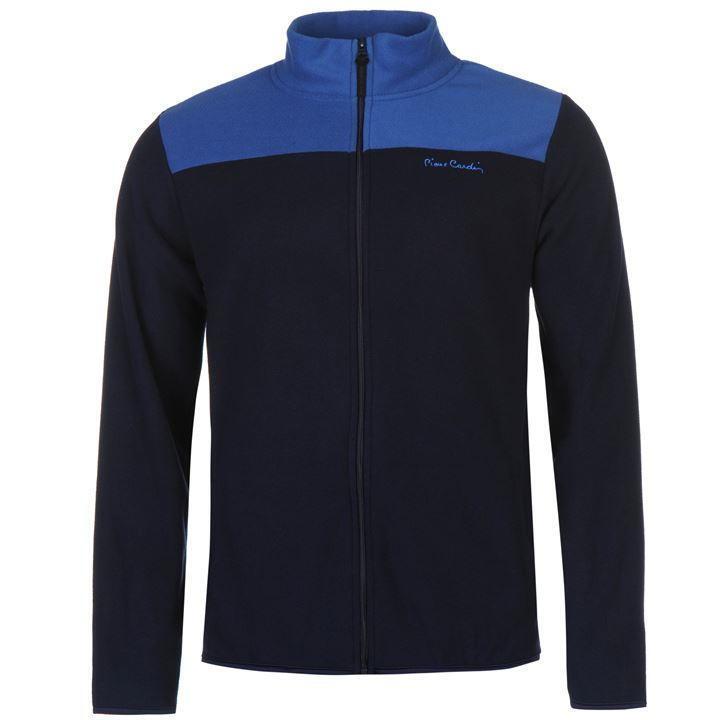 Veste polaire zippée Pierre bleu CARDIN bleu Pierre marine/bleu modèle