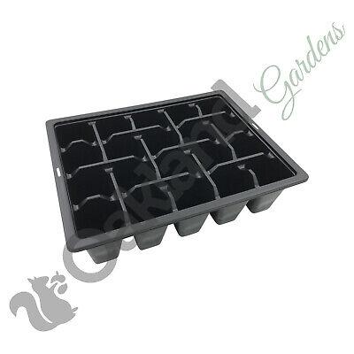 5 x confezioni di biancheria da letto 4 Multi Cella inserti Vassoio In Plastica Qualità Seme Vassoi Semi