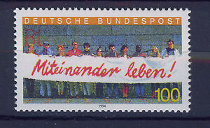 ALEMANIA-RFA-WEST-GERMANY-1994-MNH-SC-1827-Foreigners-in-Germany