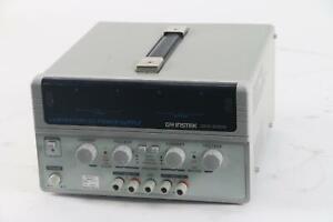 GW Instek GPS-2303 30V, 3A 2-Channel Laboratoire Alimentation Secteur Dc