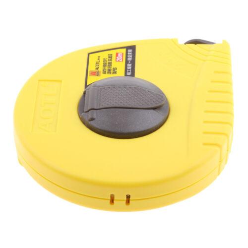 Portable Pocket Size Retractable 20m Measure Tape Measuring Tool Ruler