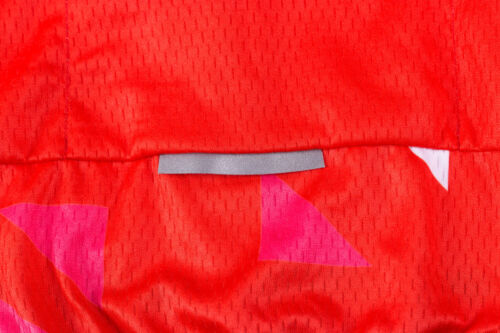 Women/'s Bicycle Clothing Set Red Cycling Jersey and Bib Shorts Kit Reflective