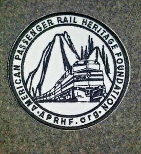 American-Passenger-Rail-Heritage-Foundation-3-034-Embroidered-Patch