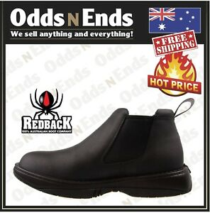 47f23b6c01d Details about RRBN RETRO Redback BLACK WAITER CHEF SHOES WATER OIL  REPELLENT LEATHER SHOES