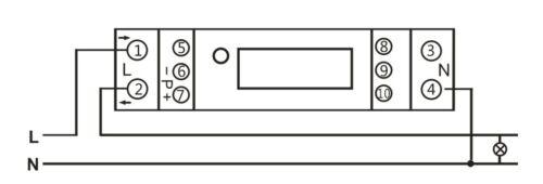Mid m18 calibré numérique LCD Courant Alternatif Compteur 45 A 1te avec s0 pour Hutschiene