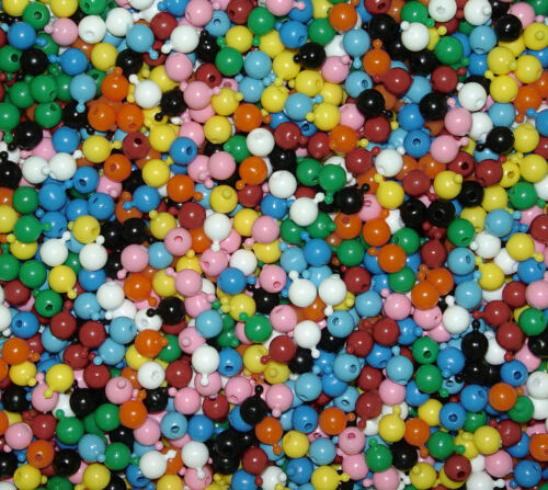 Pop Snap It Novelty Beads 12mm 144pc u choose Multi Opaque Colors