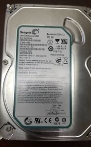"Seagate Barracuda 500GB ST3500418AS 3.5/"" 7200RPM SATA HDD Hard Drive 9SL142-021"
