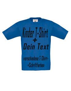 Details Zu Kinder T Shirt Mit Aufdruck Bedrucken Wunschtext Wunschdruck Selbst Gestalten