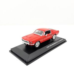1-43-COCHE-CAR-FORD-MUSTANG-GT-2-2-FASTBACK-ROJO-RED-SIGNATURES-SERIES
