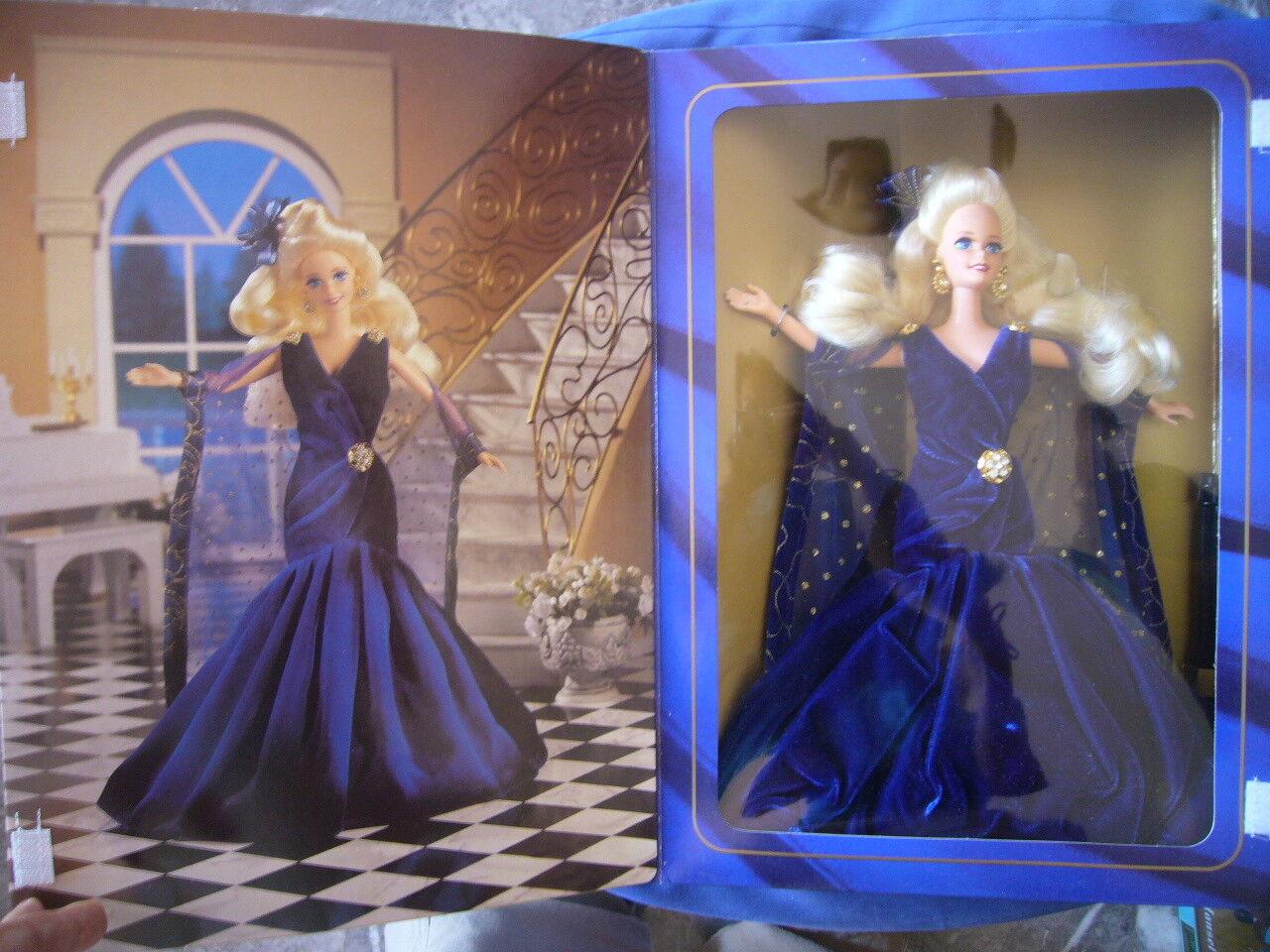 NEUF - Poupée Barbie Sapphire Dream 1995 Society Style Collection - RARE