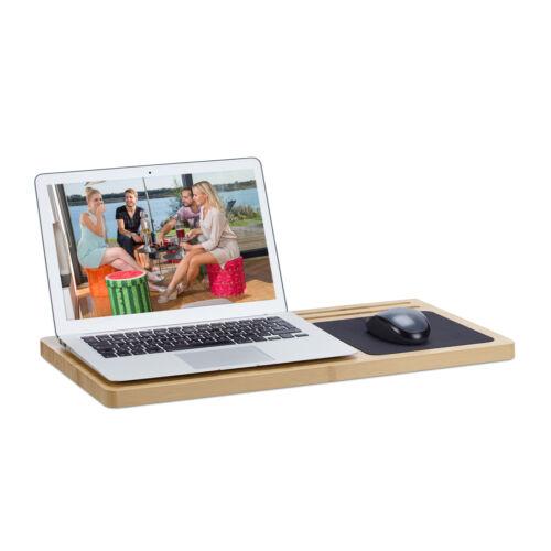 Laptoptisch Computertisch PC Tisch Knietablett Betttisch Laptopständer Lapdesk