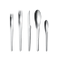 Arne-Jacobsen-by-Georg-Jensen-Stainless-Steel-Flatware-5-Piece-Place-Setting-New thumbnail 1