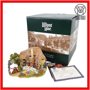 Lilliput-Lane-The-Golden-Jubilee-L2488-Vintage-Boxed-Deeds-Handmade-2002