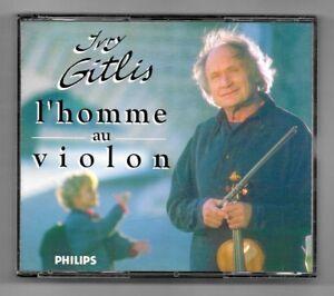 DOUBLE-2-CD-IVRY-GITLIS-L-039-HOMME-AU-VIOLON-ALBUM-PHILIPS-CLASSICS-1994