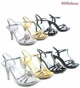Confiant Femme Mariée Sexy Bout Ouvert Talon Aiguille Soirée Chaussures Taille 5 - 11 Neuf-afficher Le Titre D'origine AgréAble à GoûTer