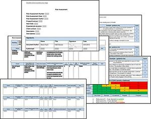 image is loading bespoke risk assessment method statement h amp s