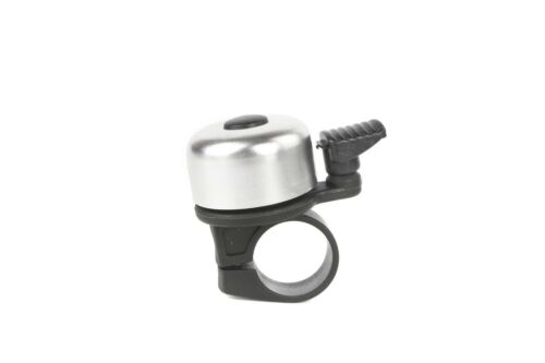 YWS-306 Road Mountain Cyclocross Bicycle Bike Bell Metal Ring Horn Silver
