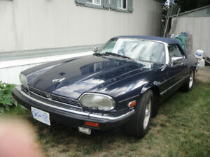 89 Classic Jaguar XJS Convertible, will take Trades
