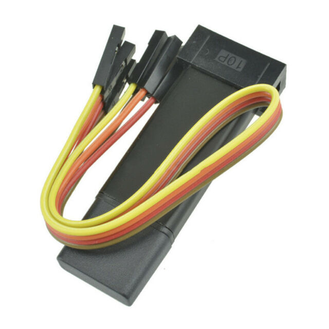 Mini ST-Link V2 stlink Emulator Downloader STM8 STM32 With cover  Dupont cable