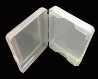 Transparent Plastic 1 Deck Holder Case Great Gift Poker Size Playing Cards