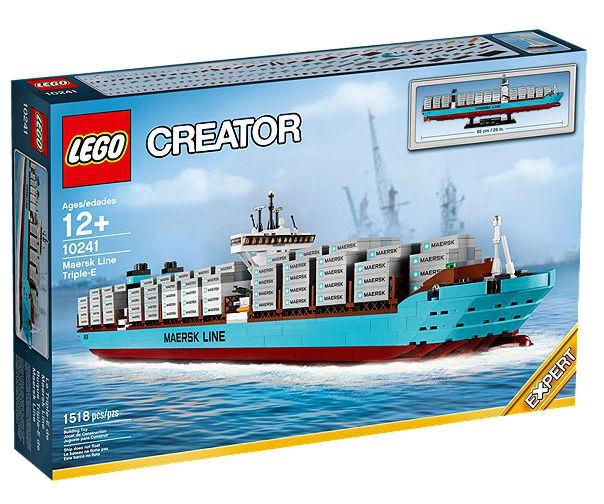 LEGO Creator 10241 MAERSK LINE TRIPLE-E Container Ship Retirojo Sealed Expert NIB