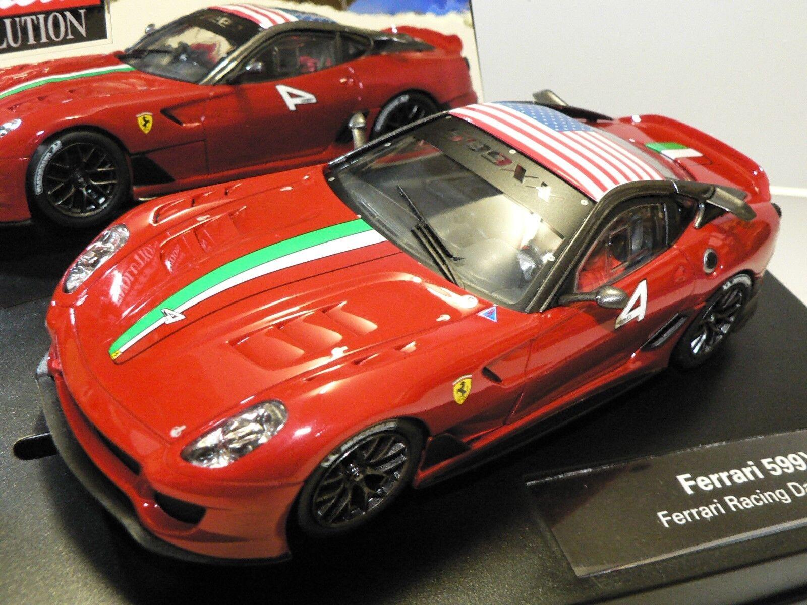 Carrera Evolution Ferrari 599XX Ferrari Racing Days No.4 27400 Nuovo