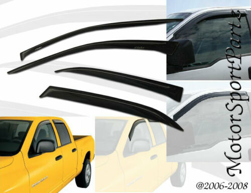 JDM Vent Visors 4pcs Wind Deflector For Hyundai Sonata 96 97 98 99-05 1996-2005