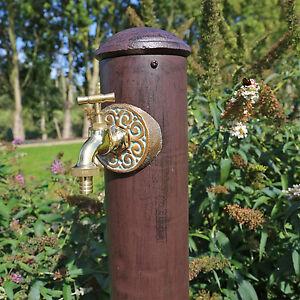 Wasser Zapfstelle Garten Wasserhahn Mit Stand Säule Wasseranschluss