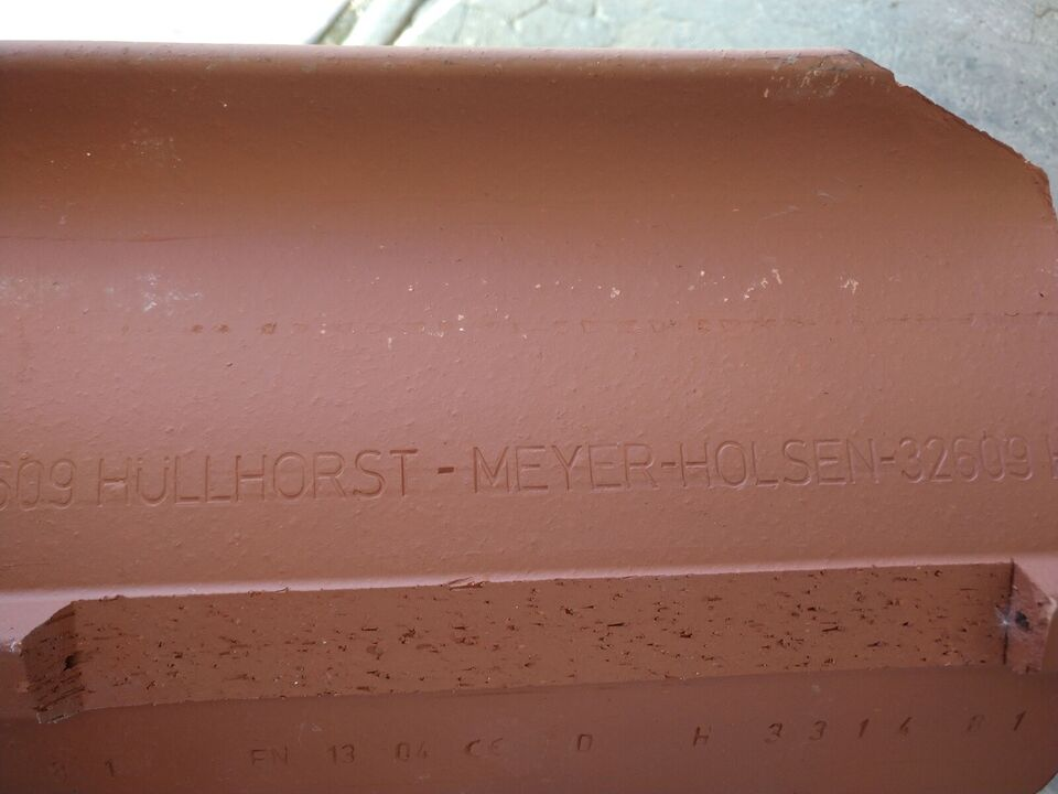 Tagsten, tegl, Hüllhorst-Meyer-Holsen 32609