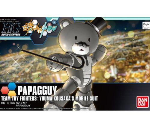 Details about  /1//144 HG Gundam CHINAGGUY BEARGGUY III PAPAGGUY Lucky Bear MS Model Kit Bandai