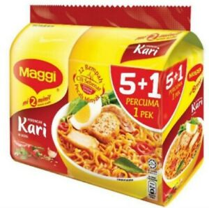 Instant-Noodles-Maggie-Curry-Chicken-Tomyam-Asam-Laksa-Flavour-79gx5-per-pack