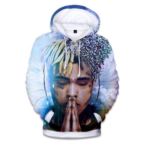 2018 New rapper XxXtentacion 3D Print Hoodies