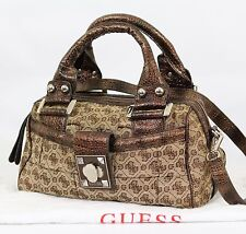 Genuine Guess Ladies medium snakeskin Shoulder cross body G Logo with dust bag