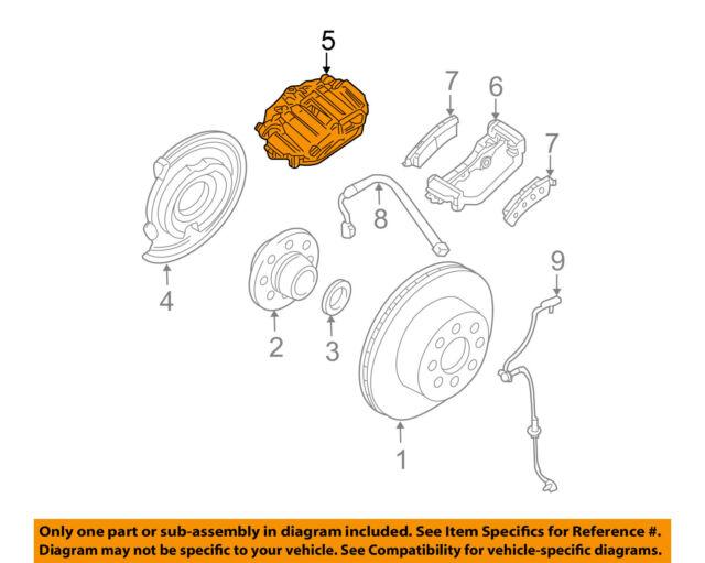 GM 20909265 ACDelco 1722436 Genuine OEM Silverado Yukon Wheel Disc Brake Caliper