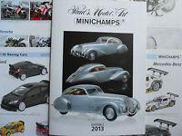 Minichamps Catalogue 2013 23 Pages Couleurs Neuf