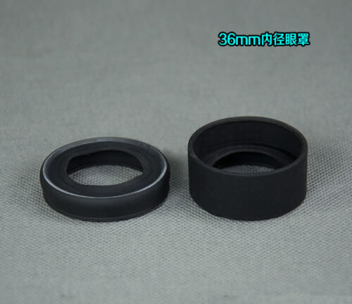 2pcs 36mm Eye Cups for 34-37MM Foldable Rubber Eye Guards f Microscope Telescope