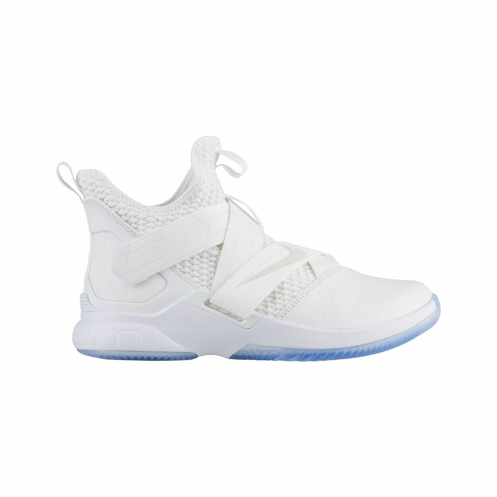 Hommes Nike Basketball Basketball Basketball Lebron Soldier XII SFG Basketball Nike blanc 807790