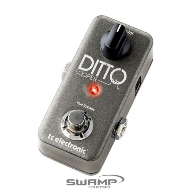 TC-Electronic Ditto Looper Guitar Pedal - Ultra Compact Looping Pedal